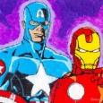 ripley's sugar art captain america iron man