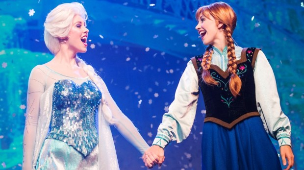 Frozen Walt Disney World Anna Elsa attraction Epcot
