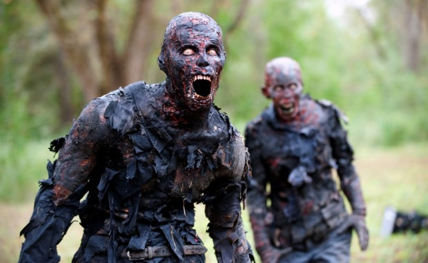 Walkers - The Walking Dead _ Season 4, Episode 14 - Photo Credit: Gene Page/AMC