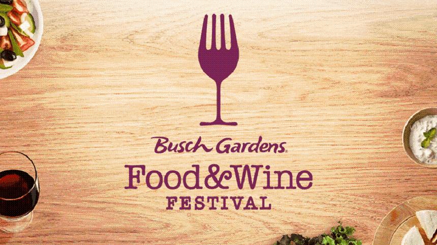 Busch Gardens Tampa Bay Food & Wine Festival