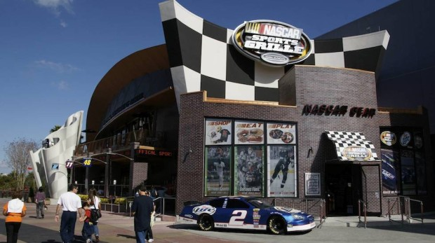 nascar sports grille