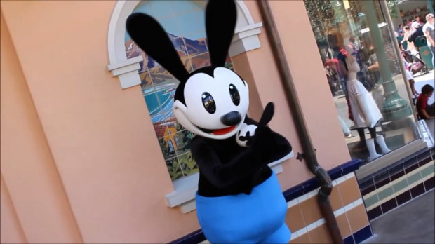 Oswald the Lucky Rabbit Disney California Adventure