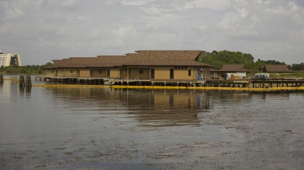 Disney's Polynesian Village Resort constuction
