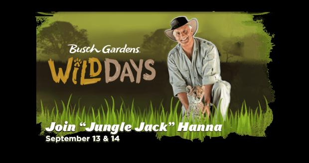 Wild Days with Jack Hanna at Busch Gardens Tampa
