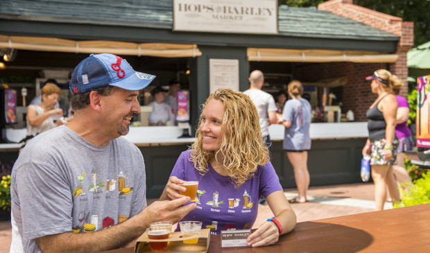 Brews and Bites at the Hops & Barley Marketplace
