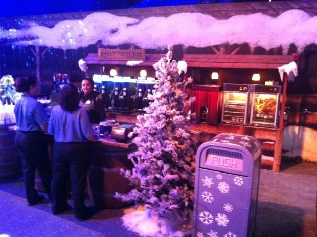 Wandering Oaken's Trading Post & Frozen Snowground