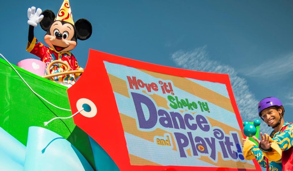 """Move It! Shake It! Dance & Play It!"" debuts at Magic Kingdom"