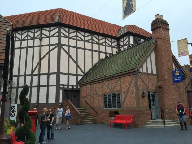 Globe Theater Busch Gardens Williamsburg
