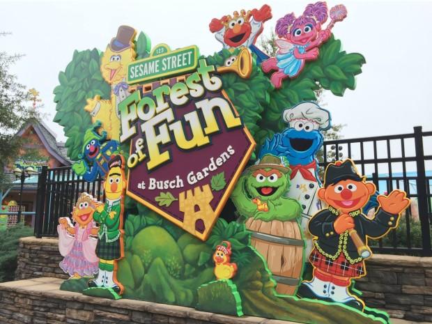 Sesame Street Forest of Fun Busch Gardens Williamsburg