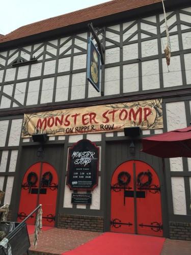 Monster Stomp on Ripper Row Busch Gardens Williamsburg
