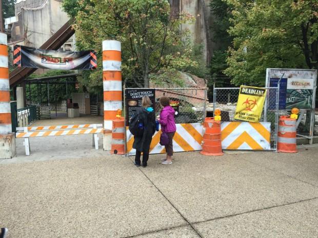 Escape from Pompeii deadline Busch Gardens Williamsburg