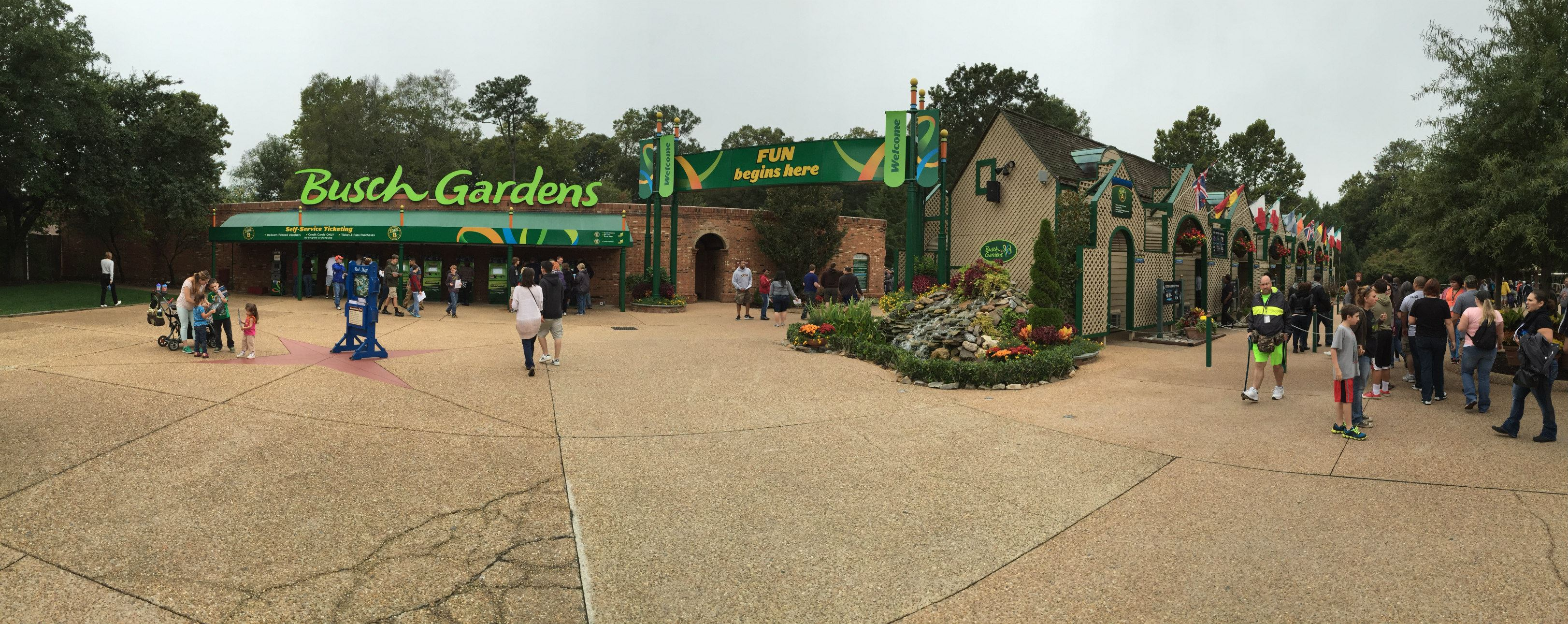 Busch Gardens Williamsburg is a must-see park
