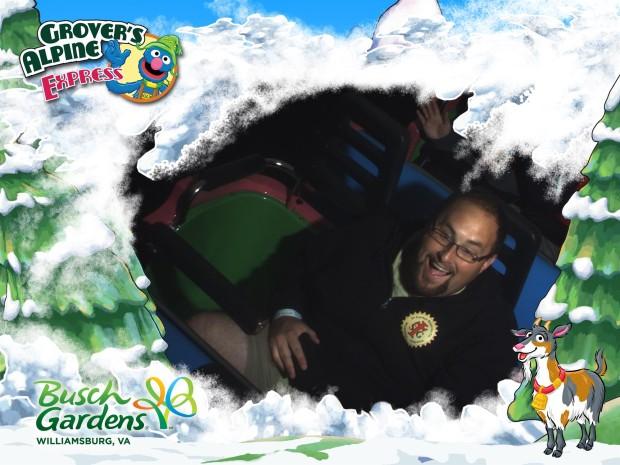 Grover's Alpine Express Busch Gardens Williamsburg