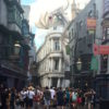 Diagon alley at universal studios