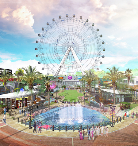 Orlando Eye completed rendering
