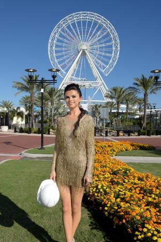 Selena Gomez takes a hard hat tour of MT Orlando