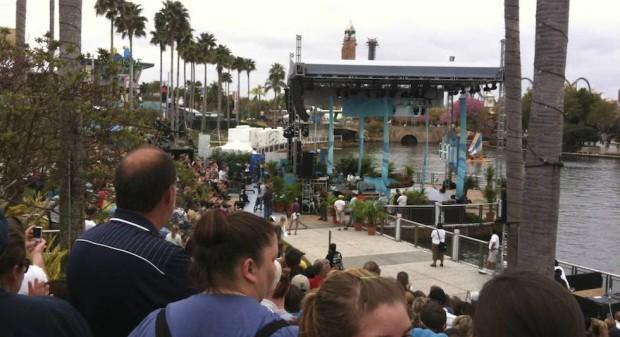 universal citywalk stage
