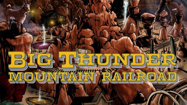 Marvel Big Thunder Mountain Railroad comic