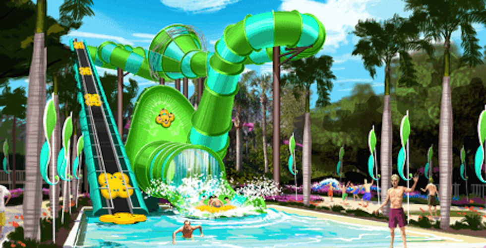 Adventure island to open new colossal curl slide in 2015 - Busch gardens and adventure island ...