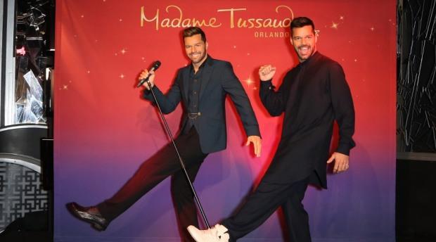 ricky martin wax figure Madame Tussauds Orlando