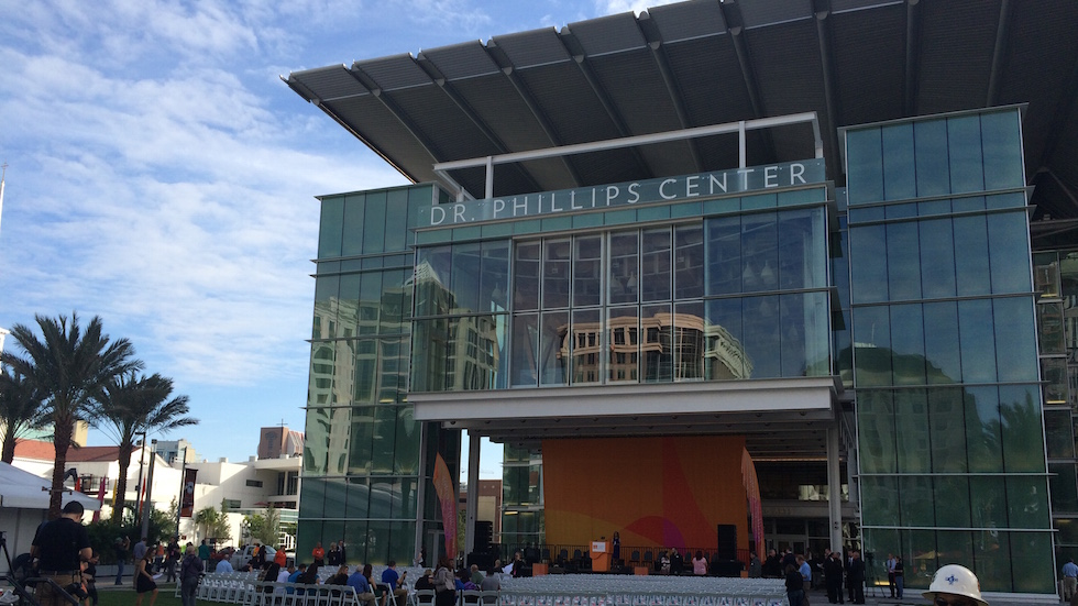 Dr Phillips Center For The Performing Arts Now Open In