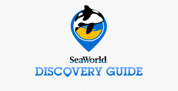 Seaworld app screen
