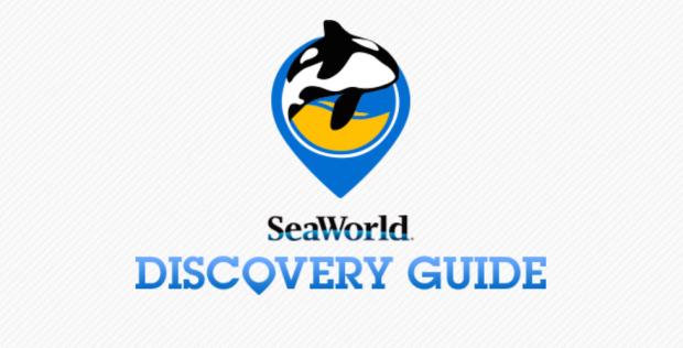 Seaworld app screen