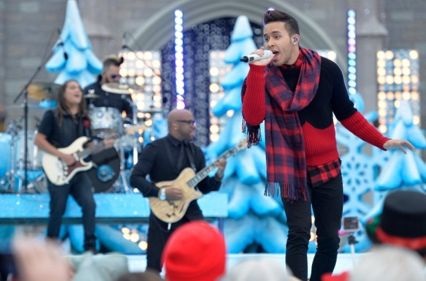 Disney Parks Frozen Christmas Celebration Prince Royce