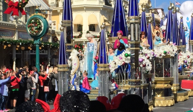 Disney Parks Frozen Christmas Celebration
