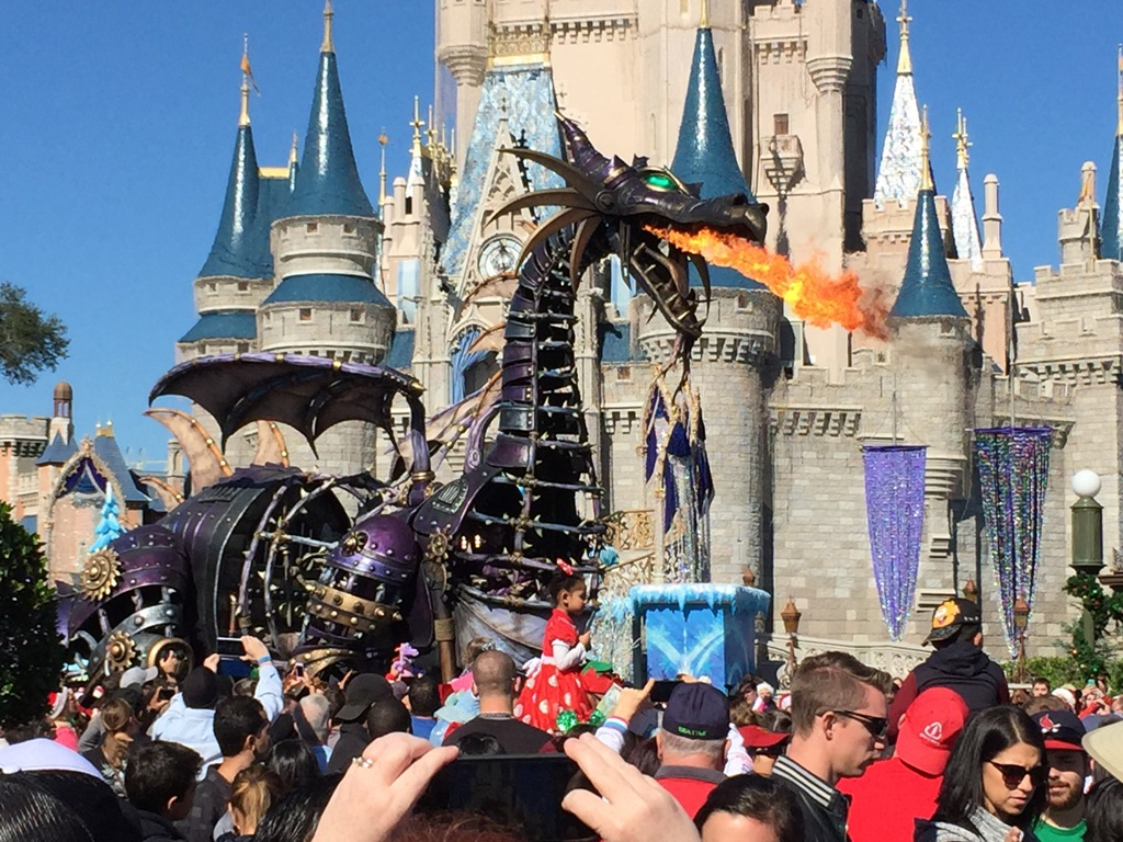 Look at the parade filming for the 2014 disney parks frozen christmas