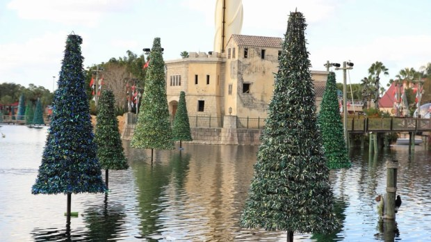 seaworld orlando christmas sea of trees