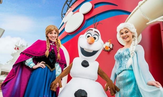 Frozen Disney Cruise Line