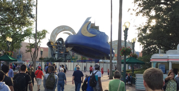 Disney Hollywood studios hat demolition
