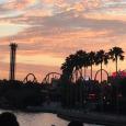 Sunset over Universal ORlandoi