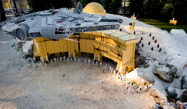 Lego Club Weekend featuring Lego Star Wars Miniland