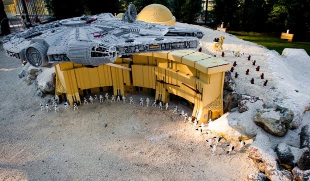 Lego Club Weekend featuring Lego Star Wars Miniland