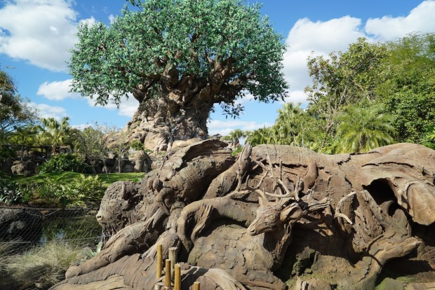 Animal Kingdom new tree sculptures 3