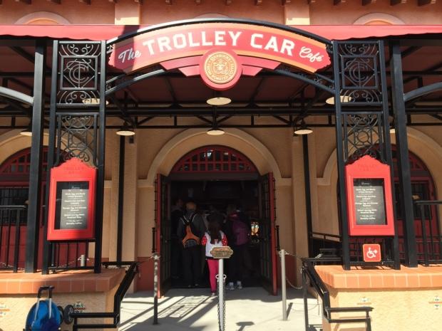 Disney's Hollywood Studios Trolley Car Cafe Starbucks