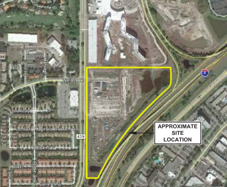 Universal water park site plan