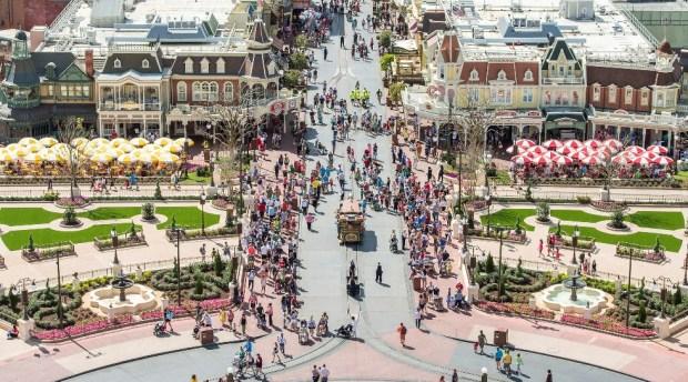 central plaza hub magic kingdom disney