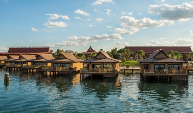 The Bora Bora Bungalows at Disney's Polynesian Villas and Bungalows
