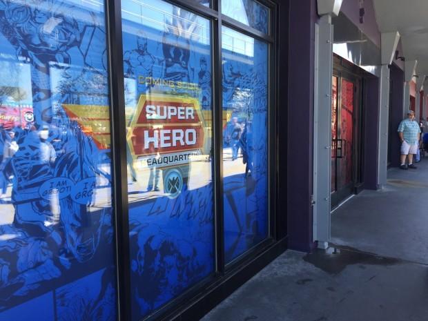 Super Hero headquarters