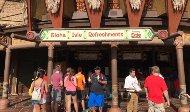 aloha isle refreshments magic kingdom
