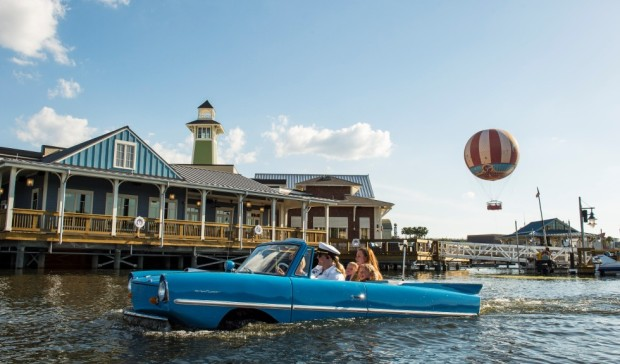 The Boathouse Downtown Disney Springs Amphicar restaurant