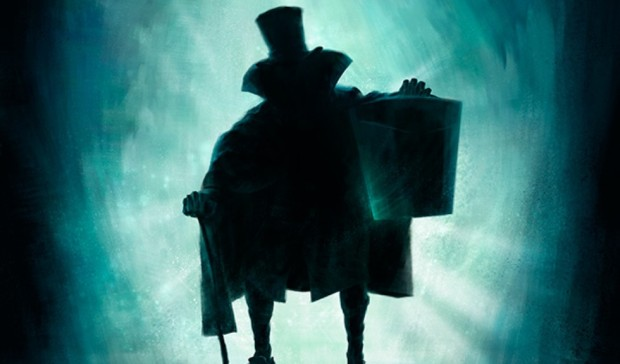 hatbox ghost disneyland haunted mansion