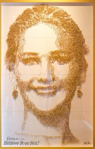Jennifer Lawrence - Framed - peanuts ripley's believe it or not