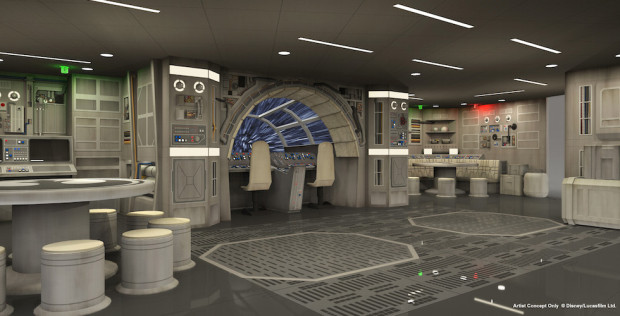 Star Wars: Millennium Falcon room