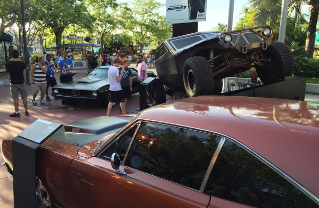 furious 7 cars at universal orlando