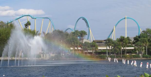 seaworld roller coaster