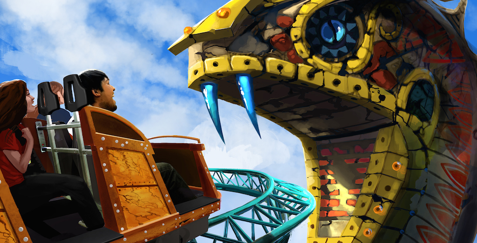 Cobra's curse at busch gardens
